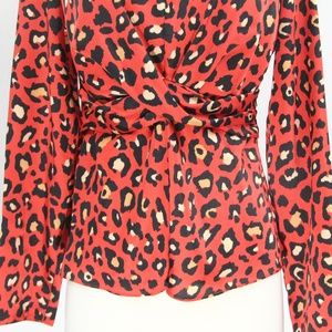 2b4f6de2de20e0 Primark Tops | Leopard Print Shirt Sz 4 Women Fashion Top | Poshmark
